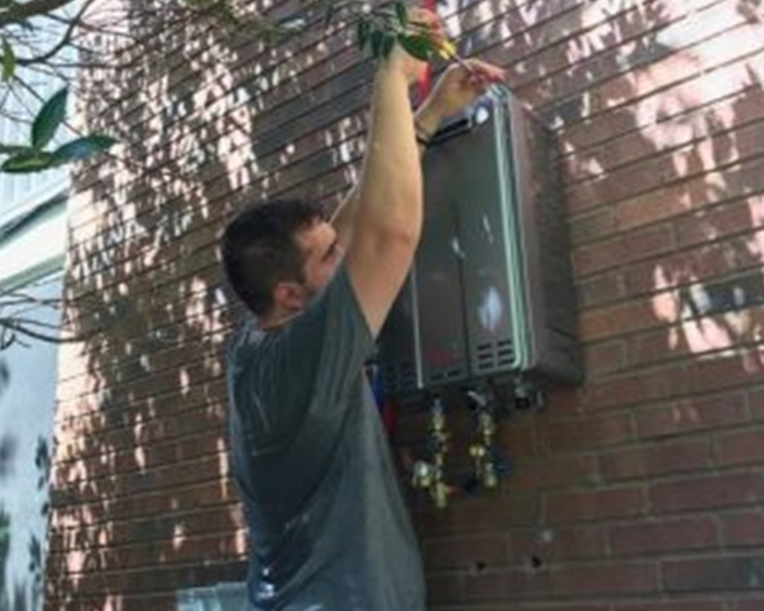 Call Marine Plumbing for tankless water heater repair and service.